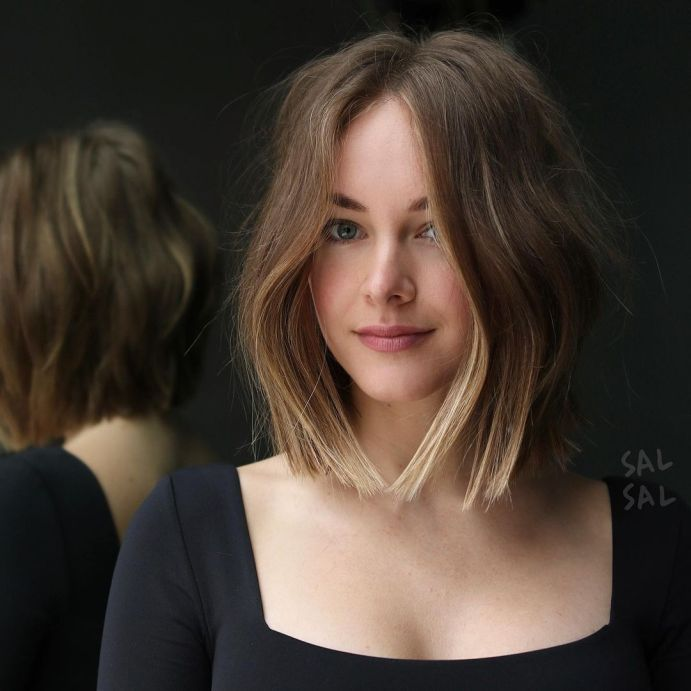Growing Out Short Hair Styles, Growing Out Bangs, Medium Hair Styles For Women, Medium Hair Cuts, Short Hair Cuts, Long Hair Styles, Short Blunt Haircut, Short Hair Lengths, Natural Hair Styles