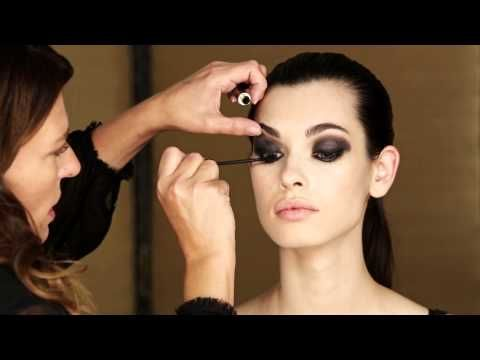 The Smouldering Eye Tutorial - The New Femme Fatale Autumn Winter 2013 Space NK Beauty Trends