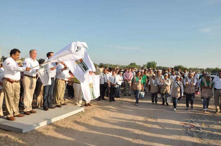 El sector salud del Gobierno del Estado y autoridades del Municipio impulsan la campaña contra el dengue. #Reynosa