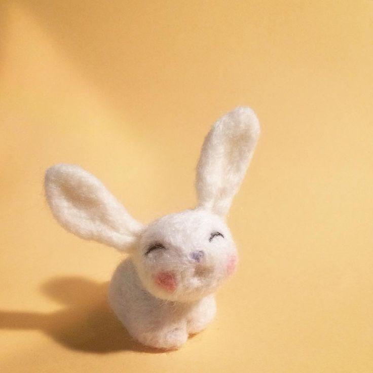 Needle Felt cutey bunny