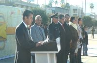 Conmemoran 99 aniversario de la Constitución Mexicana