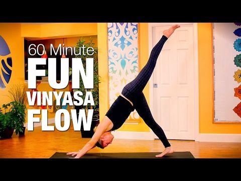 constant flow yoga class  30 minutes  five parks yoga