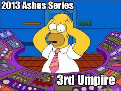 ahhhh... this is why the 3rd umpires in the Ashes have been getting the DRS decisions wrong!