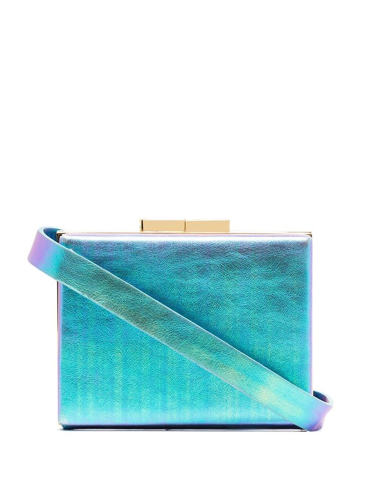 Shop online blue Marzook Capsule iridescent belt bag as well as new season, new arrivals daily. Leather Belt Bag, Blue Bags, Luxury Branding, Iridescent, Purses And Bags, Fashion Accessories, Take That, Purple, Hardware