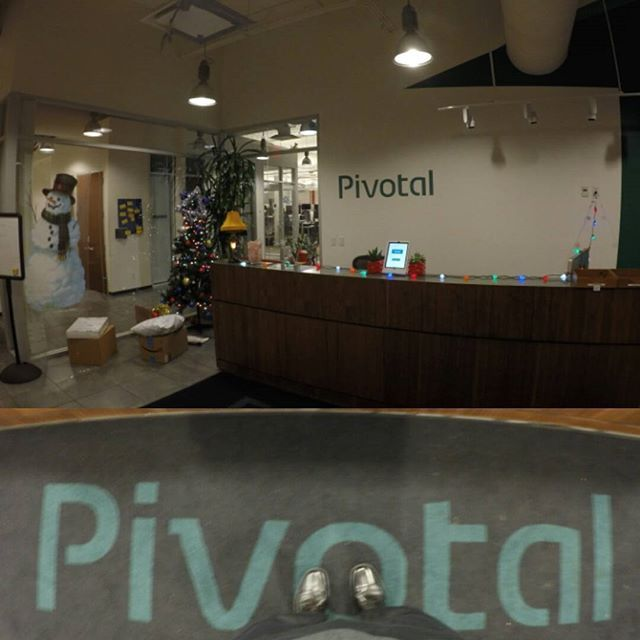 """Yesterday at #pivotallabs for a discussion on """"Building products of the future within legacy systems and cultures."""" ➖➖➖➖➖➖➖➖➖➖➖➖➖➖➖➖ #softwaredevelopment #softwaredeveloper #developer #softwareengineering #programming #coding #webdevelopment #webdeveloper #app #data #datawarehouse #ui #ux"""