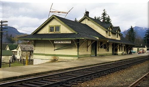 Hope BC CNR Station  AdvantageHOPE proposes to construct a permanent, outdoor exhibit celebrating the legacy of the historic CNR Station House and raising awareness for its role in Hope, British Columbia. The exhibit will consist of a kiosk structure with space for six large interpretive panels and a seating area to promote social interaction amongst visitors. The proposed Station House Awareness Project will complement the larger Station House Revitalization Project.