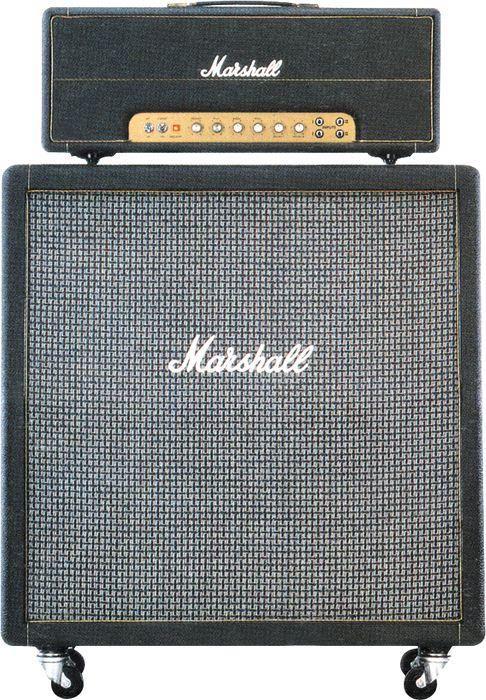 Marshall JTM45 half stack