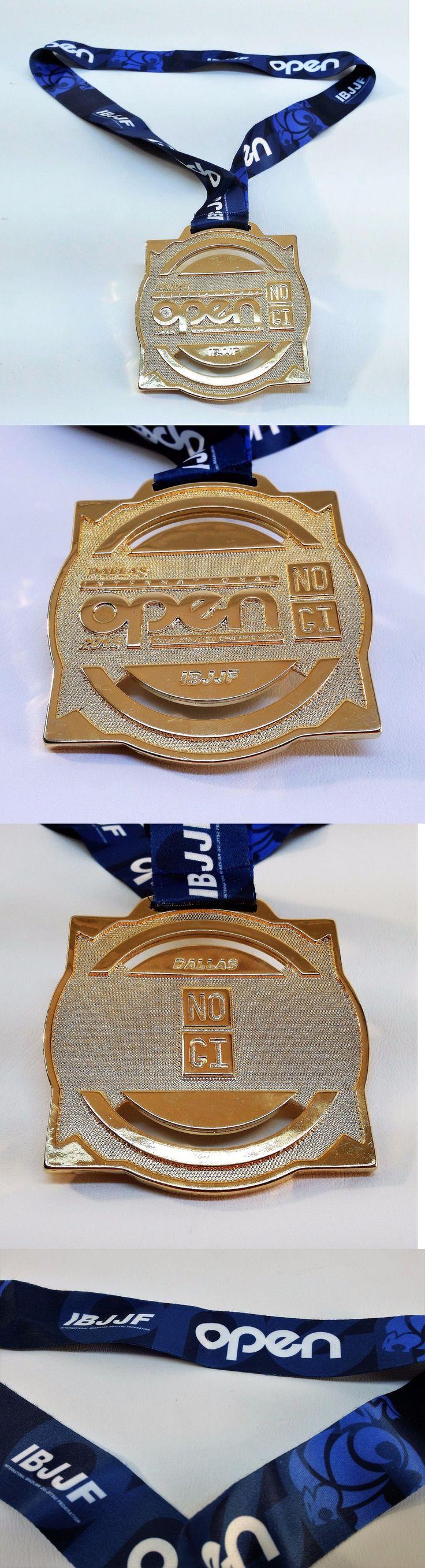 Other Combat Sport Supplies 16044: 2015 Dallas Tx Open Ibjjf Jiu-Jitsu Championship Gold Medal Trophy No Gi Award -> BUY IT NOW ONLY: $49.95 on eBay!