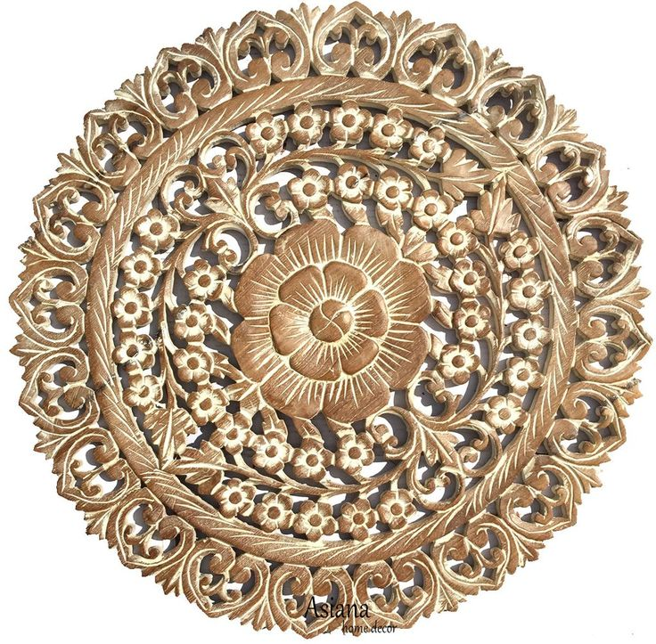 Round Wood Wall Art top 25+ best carved wood wall art ideas on pinterest | thai decor