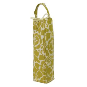 Organic Cotton :: Wine Bags :: Wine Bag Padded - Prada Green