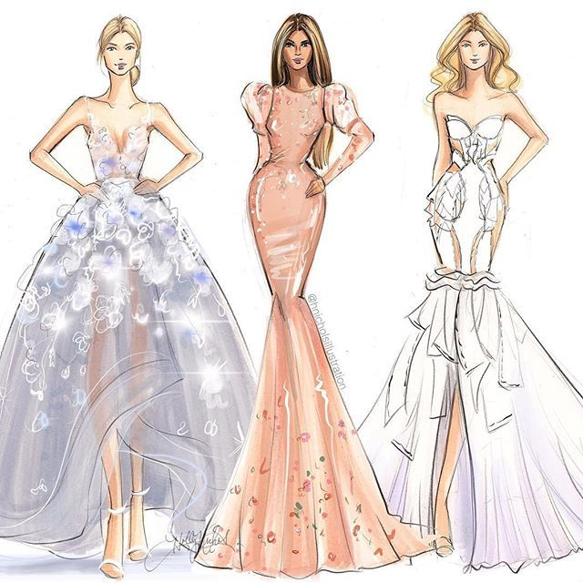 Fashion Illustration | Marchesa