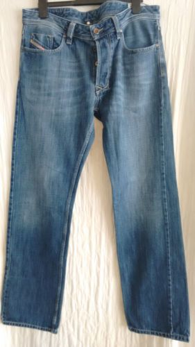 DIESEL-LARKEE-straight-jeans-size-34W-32L-mens