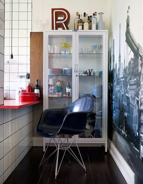 Binnenkijken in een klein appartement met grote ideeën / www.woonblog.be