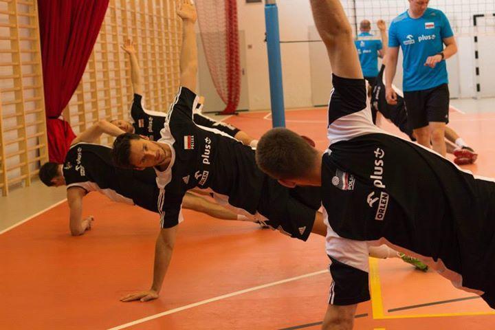 Reprezentacja Polski w siatkówce w Bażantowo Sport