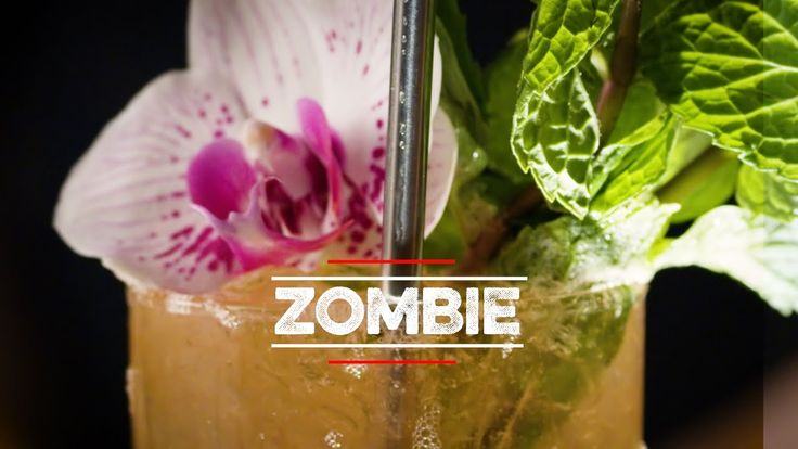 How to Drink: Zombie #cocktails #drinks #HappyHour #food #sun #lunch #bar #London