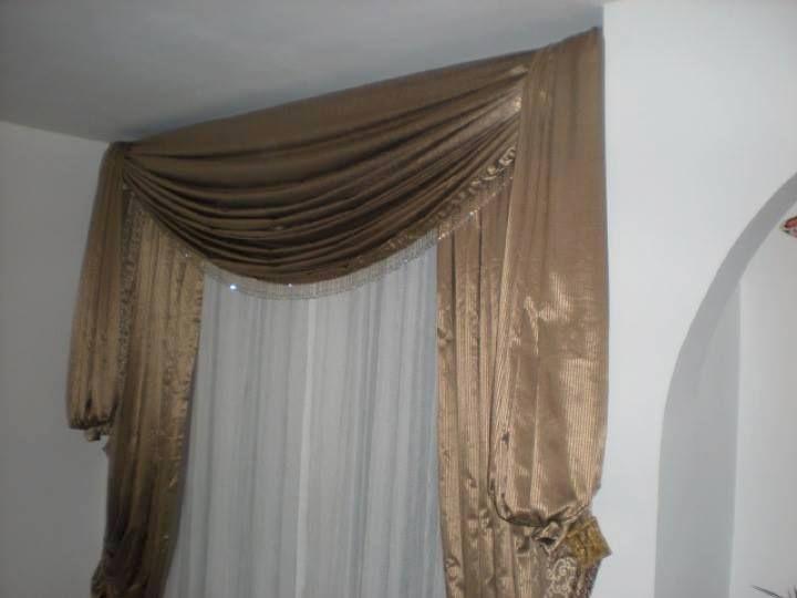 cortinas clasicas con lambrequin los elementos t picos ForCortinas Clasicas Elegantes