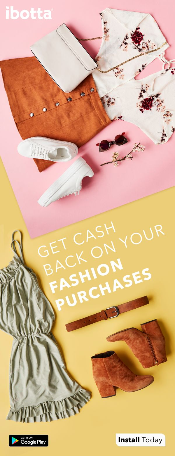 Whenever you shop for all your fashion necessities, start with Ibotta - the free app that gives you cash back at your stores and mobile shopping sites. Just open Ibotta and find cash back offers at hundreds of stores. Then, shop like normal on your phone or in-store for your favorite jeans, the perfect top, or the shoes that finishes your outfit!  Watch the rewards pile up when you purchase. Cash out using Venmo, Paypal or a gift card!