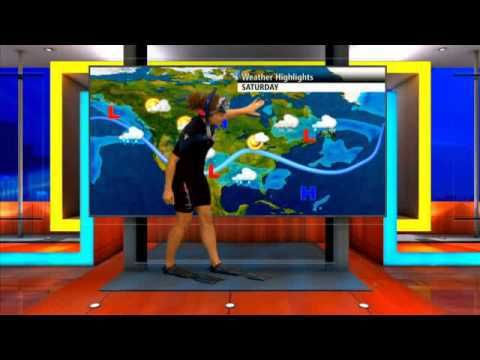 (adsbygoogle = window.adsbygoogle || []).push();       (adsbygoogle = window.adsbygoogle || []).push();   The Weather Network's Suzanne Leonard fulfills her pledge to wear her snorkel gear on TV in honour of Earth Hour. source #TheWeatherNetwork #Weather #weathernews... #Weather #videos