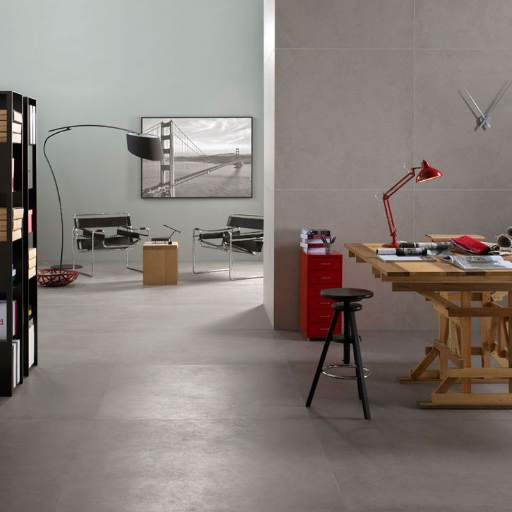 These large format tiles are 1200x1200mm, our largest porcelain tile at the moment. Having a large tile makes the area looks bigger due to less grout joints. We have other ranges that go up to this size also, see them on our website. http://shop.robel.co.uk/collections/porcelain/products/stature-dark-grey