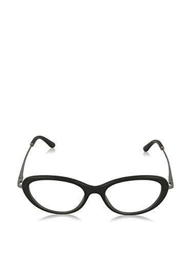 Giorgio Armani F¨¹r Frau 7046 Matte Black Gestell Aus Metall Und Kunststoff Brillen, 52mm