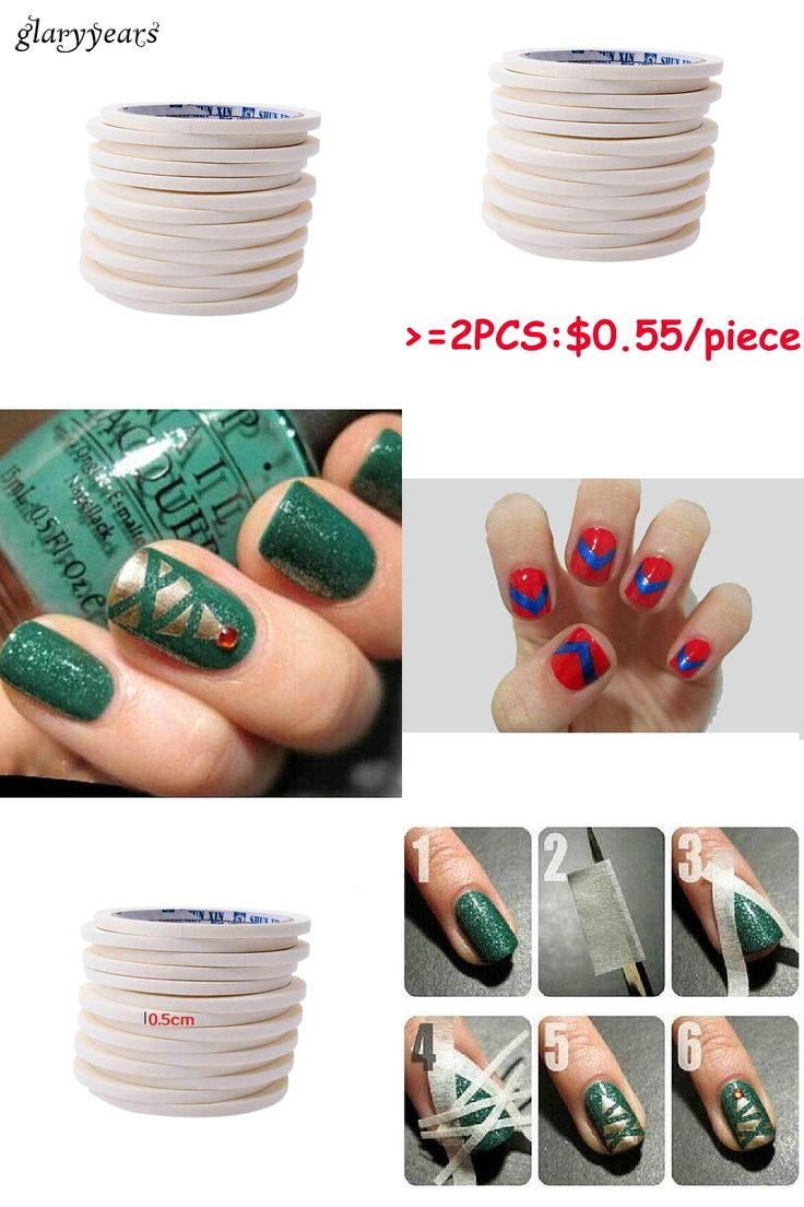 Color lines online strip game -  Visit To Buy 1 Piece French Manicures Roll Line Nail Sticker White Line Tape
