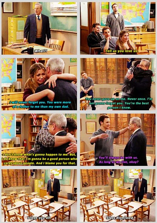 Boy Meets World right in the feels I love you Mr. Feeney you were the best teacher I never had