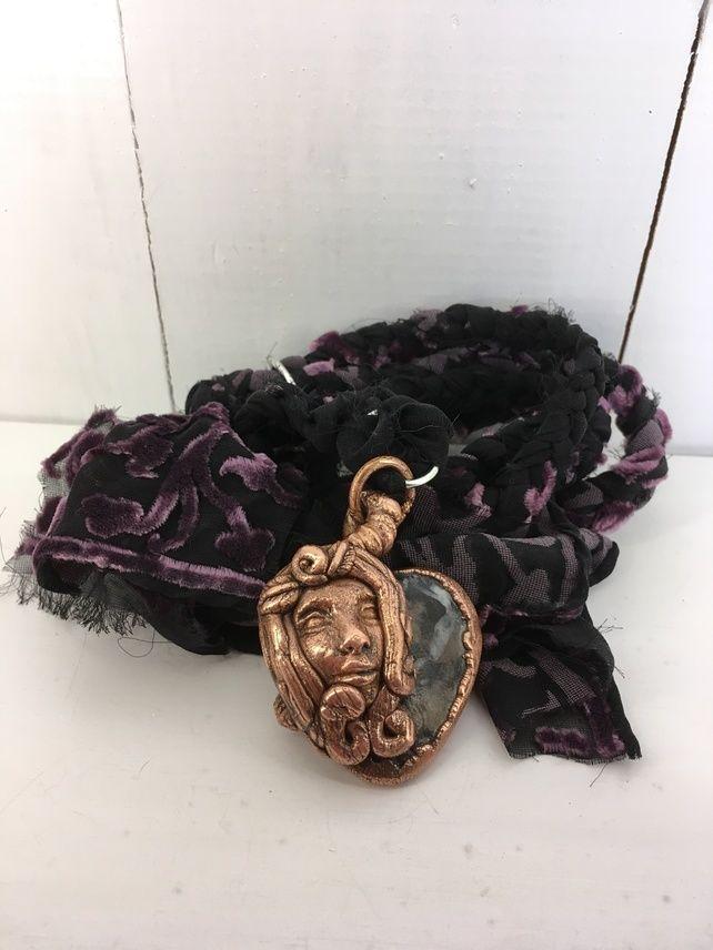 Electroformed goddess necklace  £42.00