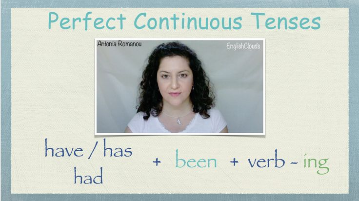 Perfect Continuous Tenses screenshot Μαθήματα Αγγλικών! Μάθε τους Perfect Χρόνους Διαρκείας στα Αγγλικά, με τρόπο εύκολο και διασκεδαστικό. Learn the Perfect Continuous Tenses in English in a fun and easy way!