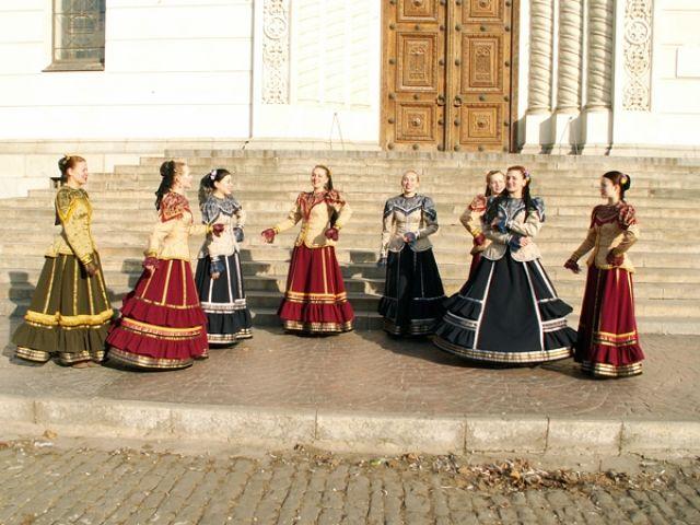 казачий народный костюм