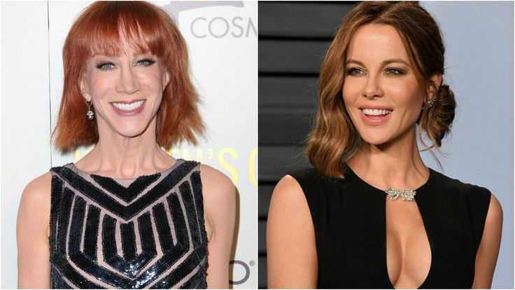 Kathy Griffin And Kate Beckinsale Show Off Their Bikini Modeling Skills In Hilarious Video – Check It Out!