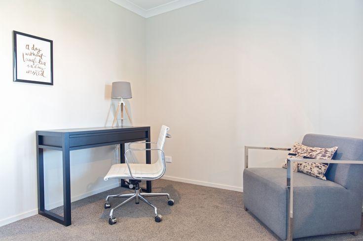 Create a peaceful room to work.
