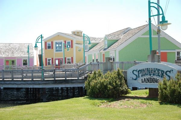 Spinnakers' Landing, Summerside, Prince Edward Island, Canada