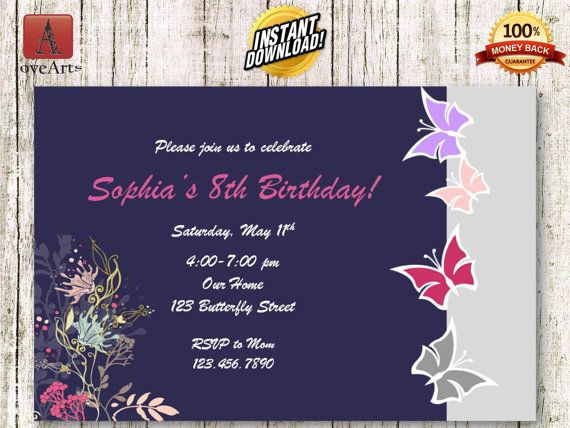 Hey, I found this really awesome Etsy listing at https://www.etsy.com/listing/241421661/instant-download-butterfly-invitation