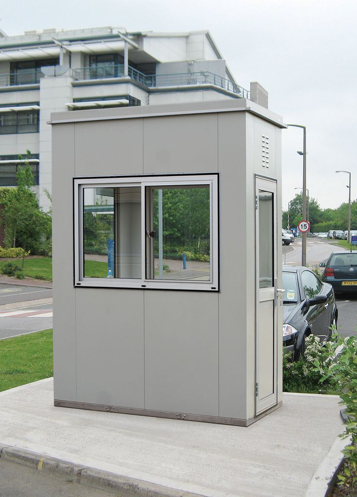 With 10 standard size combinations available, from 1.2 x 1.2m up to 2.6 x 4.0m internal footprint, the Ranger can be easily adapted to suit a variety of applications including ticket kiosks, security huts, sentry posts and car park kiosks.