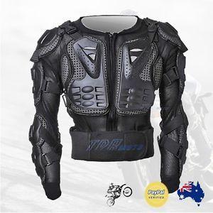Adult-amp-Youth-Motocross-Dirt-Bike-Body-Armour-Chest-BMX-ATV-Quad-Racing-Peewee