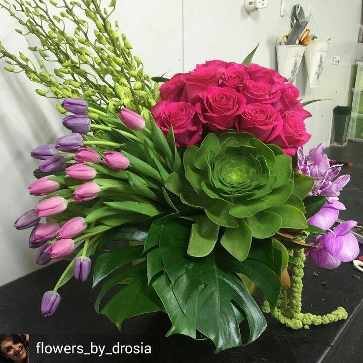 Beautiful flora arrangement