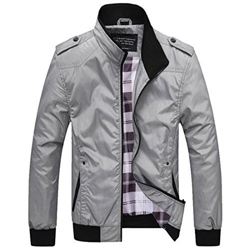Partiss Men's Slim Fit Stand Collar Light Jacket Chinese ... https://www.amazon.co.uk/dp/B015IPTXFY/ref=cm_sw_r_pi_dp_bf5xxbF7ZRBP2