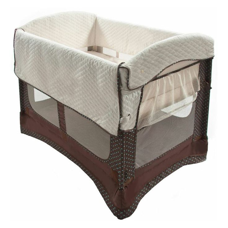 Have to have it. Arms Reach Ideal Co-Sleeper Bedside Bassinet - $190.79 @hayneedle