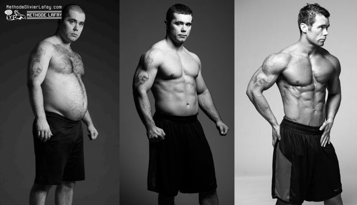 Avant après #musculation #motivation #methodelafay  www.methodeolivierlafay.com