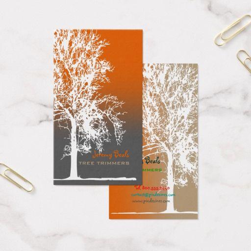 PixDezines white oak Tree Trimmers ♥♥♥♥ Business Card