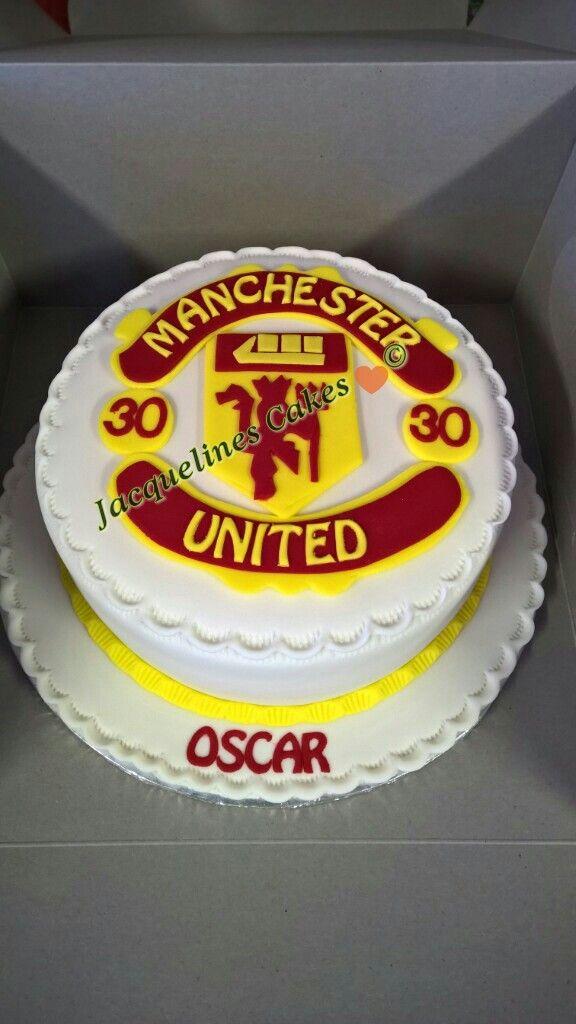 #Man United #cake