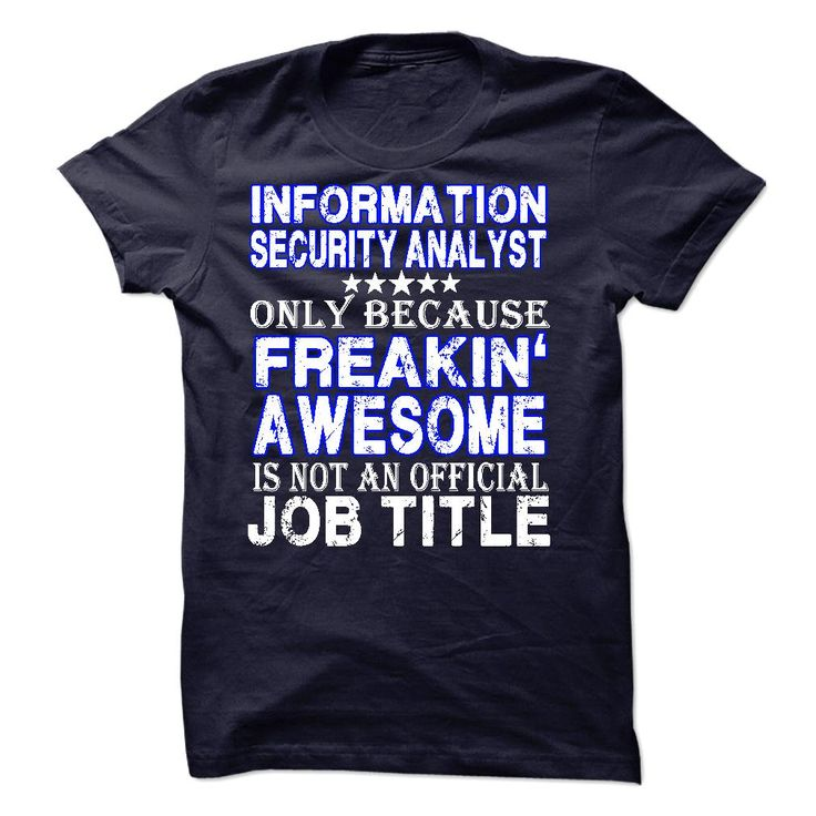 39 best images about information security analyst t shirts
