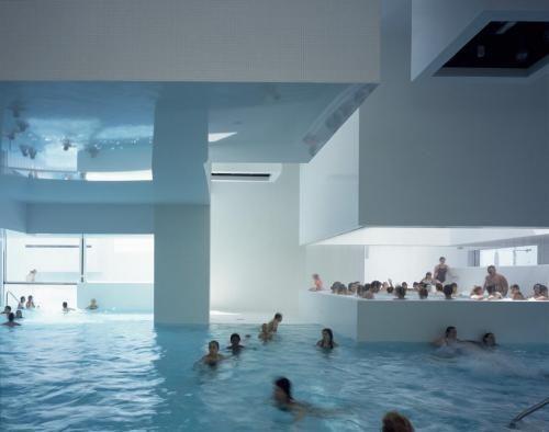 Great Les Bains Des Docks Aquatic Complex In Architectuur Bij Ateliers Jean Nouvel