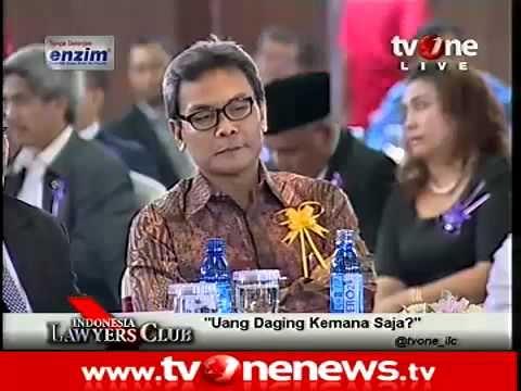 Uang Daging Kemana Saja? - Indonesia Lawyers Club (ILC) tvOne 14 Mei 2013 part1