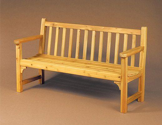 Build an Garden Bench with Minwax