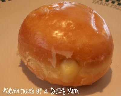 Adventures of a DIY Mom: Homemade Donuts with Boston Cream Filling