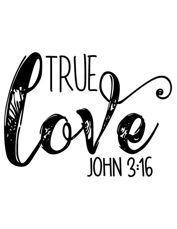 Download True Love John 3:16, Bible, Cross, Scripture, Love ...