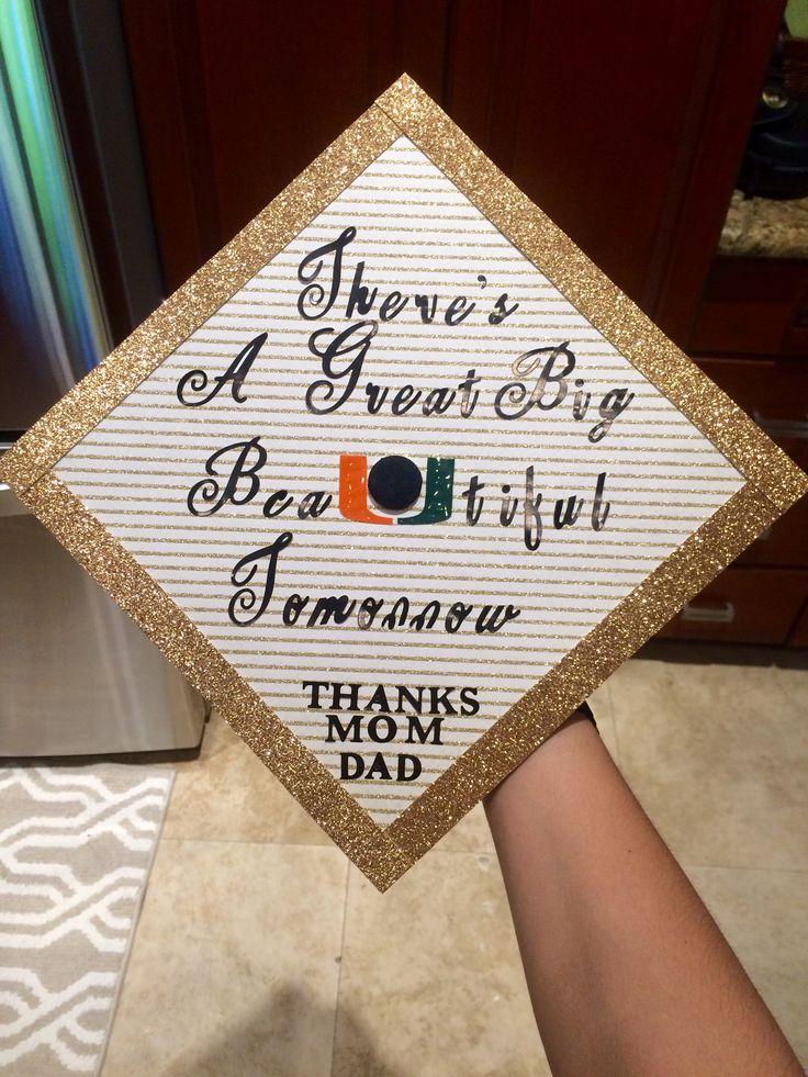 University of Miami Graduation Cap