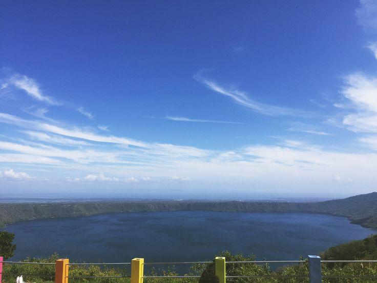 Catarina, Masaya Nicaragua Centro turístico Vista a la laguna de Apoyo