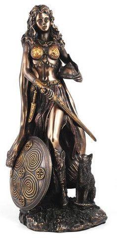 #pagan #wicca #witchcraft #celtic #druid #tarot Freya Statue $61.95